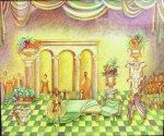 Эскиз декораций к комедии У. Шекспира «Сон в летнюю ночь», 2013