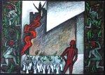 Эскиз декораций к трагедии  У. Шекспира «Макбет», 2010