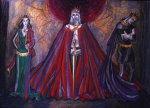 Эскиз костюмов к трагедии У. Шекспира «Макбет», 2010