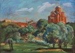 Окрестности Покровского женского монастыря в Хотьково
