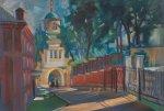 Двор монастыря в Хотьково
