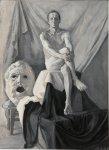 Обнаженный натурщик, 1995