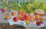 Яблоки в саду, 1996.