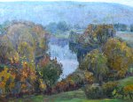 Осенний пейзаж, 1980.