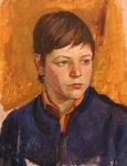 Мальчик (этюд к триптиху «День победы в Кемерово»)