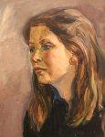 Женщина (этюд к триптиху «День победы в Кемерово»)