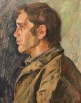 Портрет Шувалова Н. А. из службы газодымозащиты