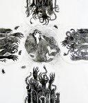 «Вий» Н.В. Гоголя (гравюра на гипсе)