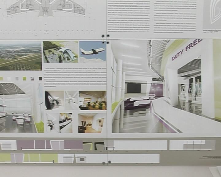 Белгород Белгородские дизайнеры выпускники представили свои  Анастасия Кистенева и Анна Пестерева представили проект дизайна белгородского аэропорта Мир Белогорья