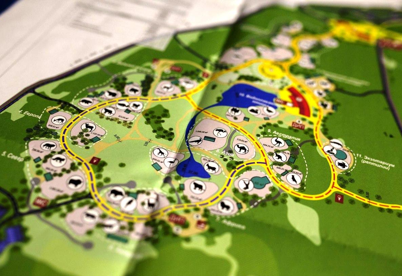 Схема проезда в зоопарк в сосновке в белгороде8
