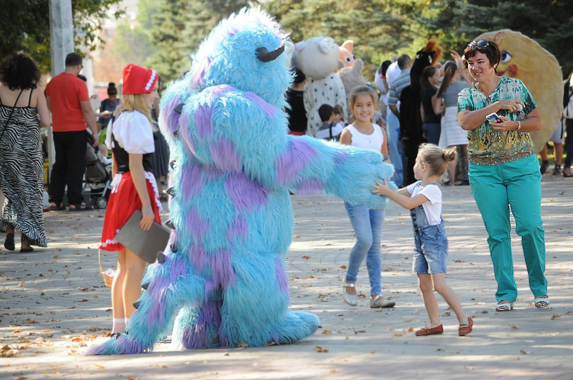 Фестиваль ростовых кукол «В гостях у сказки» в Белгороде