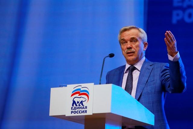 губернатор Евгений Савченко