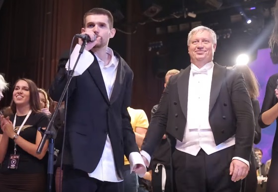 Noize MC и Евгений Алешников